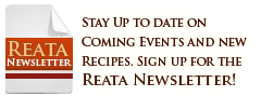 Sign Up for the Reata Newsletter