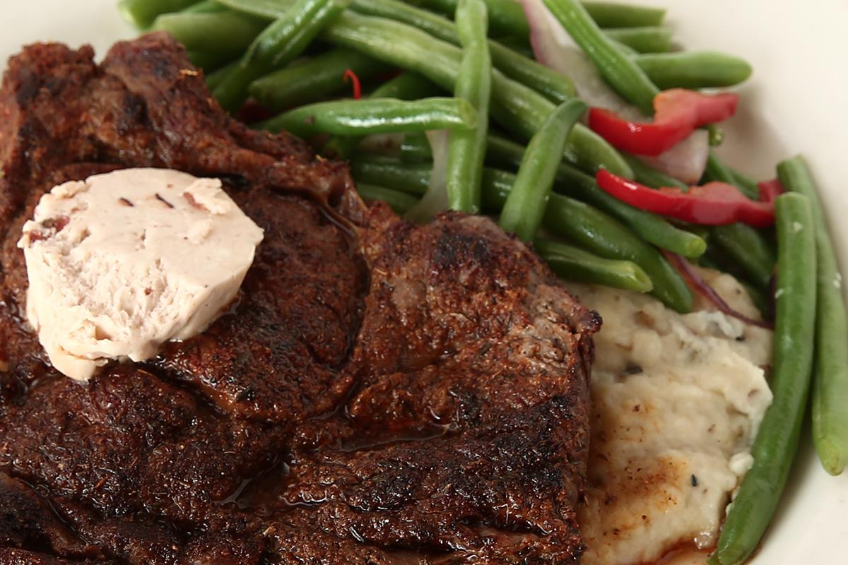 Dinner menu reata restaurant for Buffalo fish ribs